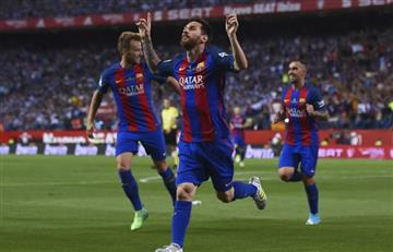 Messi le dice adiós a Luis Enrique