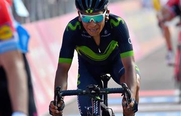 Nairo Quintana descifra la razón por la que no ganó el Giro de Italia