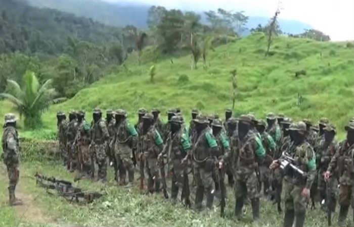 Revelan video de neo-paramilitares gaitanistas