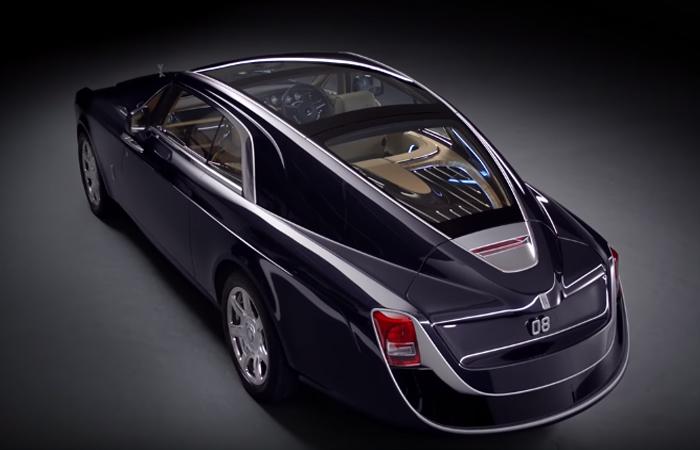 Rolls Royce Sweptail. Foto: Youtube