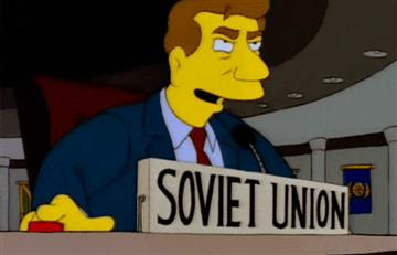 Ucrania provoca a Rusia con un GIF de Los Simpson