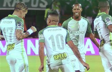 Atlético Nacional golea a Jaguares