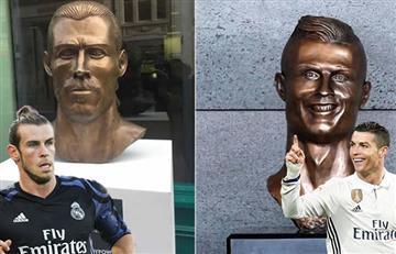 Cristiano Ronaldo y Gareth Bale: Los afectados del escultor Emanuel Santos