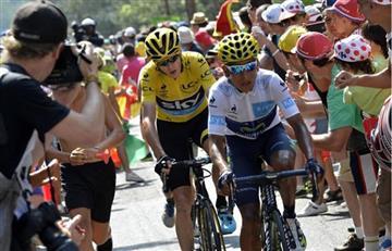 Tour de Francia: Bogotá homenajea la carrera en la que estará Nairo
