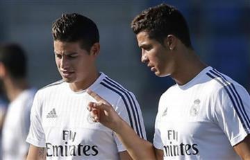 """Cristiano Ronaldo: """"James es joven y tiene potencial para jugar en el Madrid"""""""