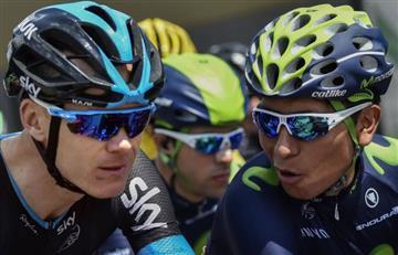 """Froome: """"Mis rivales fuertes para el Tour son los que no fueron al Giro"""""""