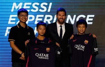 Messi: Así es el parque de atracciones con su nombre en China