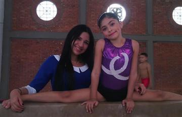 Deisy Barrientos la niña gimnasta que casi pierde la vida por negligencia de Cafesalud