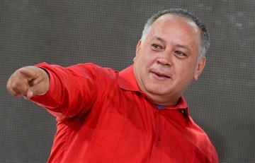 """Diosdado Cabello, """"el enemigo"""" de los medios de comunicación"""