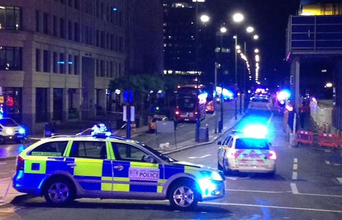 Al menos 20 personas han resultado heridas. Foto: AFP