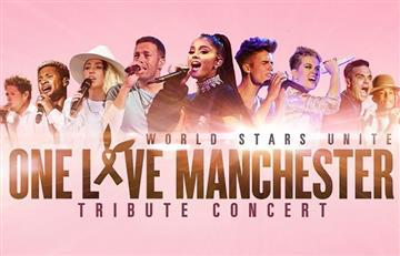 Ariana Grande y el concierto One Love Manchester en vivo