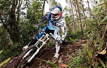 Colombiano Marcelo Gutiérrez es segundo en Copa Mundial de Mountain Bike