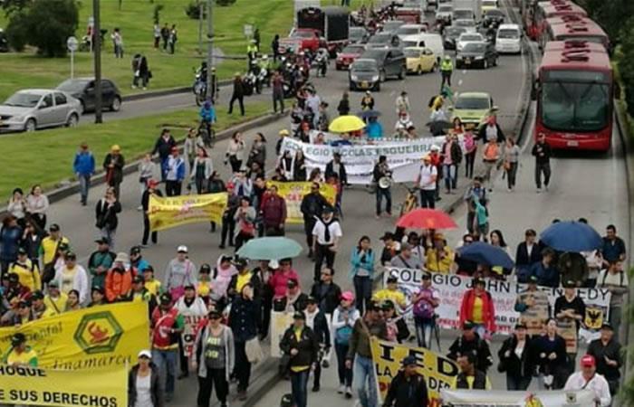 Docentes convocan a paro nacional y toma de Bogotá este 6 de junio