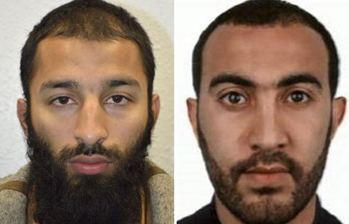 Dos atacantes de Londres fueron identificados