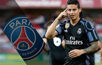 James Rodríguez: PSG habría negociado con el agente del colombiano