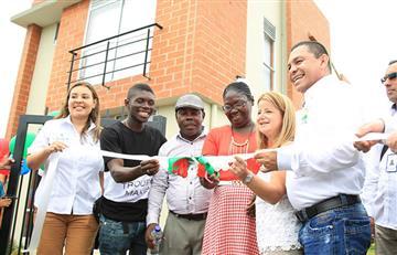Yuberjen recibe oficialmente la casa prometida por el gobierno