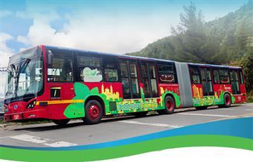 Bogotá pone a circular el primer bus articulado 100% eléctrico del mundo