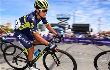 Esteban Chaves se mantiene entre los mejores en el Dauphiné