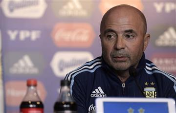 Jorge Sampaoli afina el juego ofensivo de la selección argentina