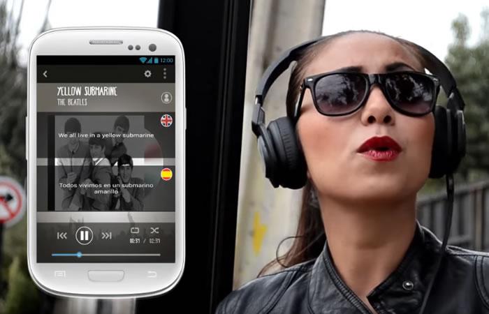 MusíGlota, la app que te ayuda a aprender inglés con música