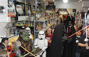 Star Wars: Roban parte de la mayor colección de sus objetos