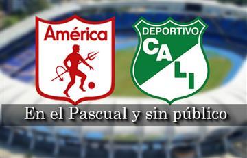 América vs. Cali: Se jugará en el Pascual Guerrero y sin público
