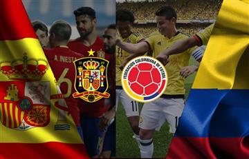 Colombia vs. España: Transmisión EN VIVO online