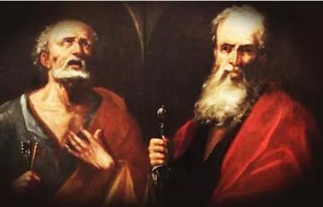 Oración a los Santos Apóstoles Pedro y Pablo para los niños