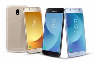 Samsung presentó sus Galaxy J3, J5 y J7: Características y precio