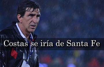 Santa Fe: ¿Gustavo Costas se va?