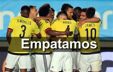Selección Colombia dejó escapar la victoria ante España
