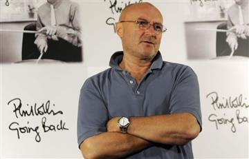 Cantante Phil Collins se encuentra hospitalizado por fuerte caída