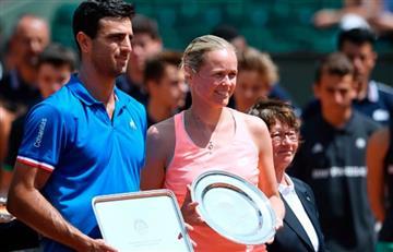 Farah queda subcampeón de dobles mixtos en Roland Garros