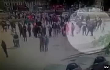 Notre Dame: Revelan impactante video del momento del ataque