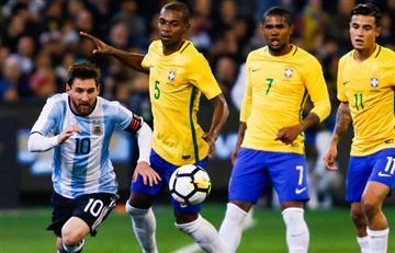 Argentina ganó a Brasil en el debut de Jorge Sampaoli