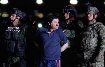 """""""El Chapo"""" podría estrangular a sus abogados al interior de la cárcel"""