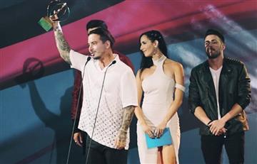 Premios Heat: J Balvin afirmó 'Maduro madura' en apoyo a Venezuela