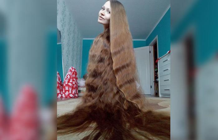 'Rapunzel', la joven que no se corta el cabello desde los  13 años