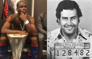 Paul Pogba imita al narcotraficante Pablo Escobar y Griezmann no para de reir