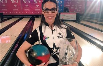Rocío Restrepo campeona de bolos en Estados Unidos