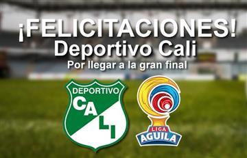 Deportivo Cali primer finalista de la Liga Águila 2017-l