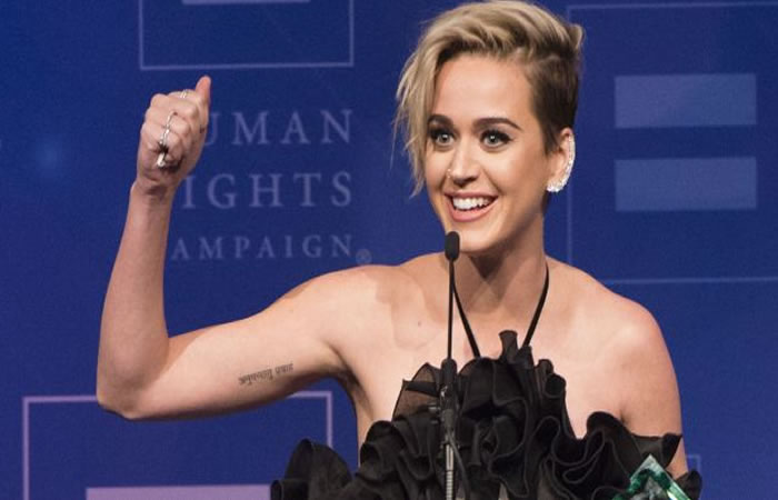 Katy Perry hace revelaciones de su etapa de depresión. AFP