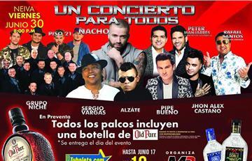 San Pedro: 'Un concierto para todos' en Neiva