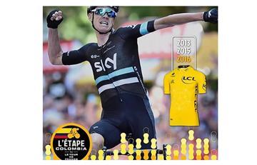Campeón del Tour de Francia correrá en Colombia