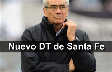 Independiente Santa Fe confirma a Gregorio Pérez como nuevo técnico