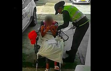 Niña fue obligada a fingir discapacidad para pedir dinero