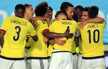 Selección Colombia: Alineación oficial ante Camerún