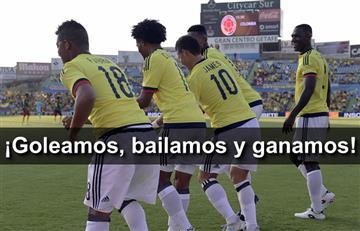 Selección Colombia goleó, bailó y ganó a Camerún