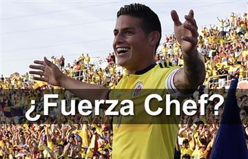 Selección Colombia: ¿James Rodríguez a quién le dedicó su gol?