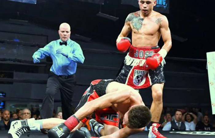 Violento KO dejó en coma a boxeador